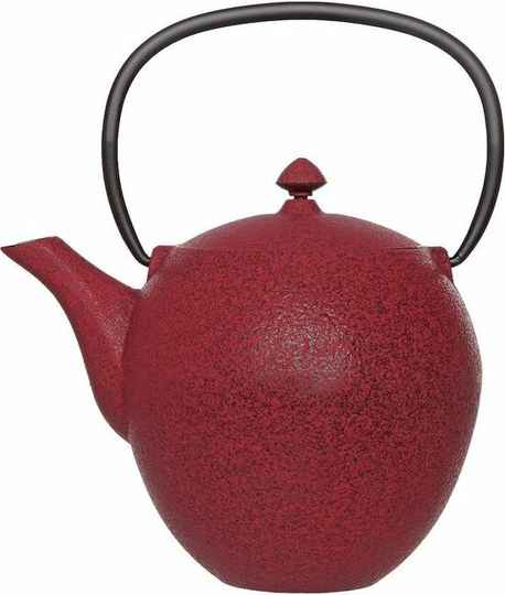 Cosy & Trendy Pear Theepot - 1 l -Gietijzer - Rood, 201870