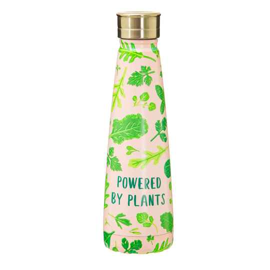 drinkfles uit staal Powered By Plants