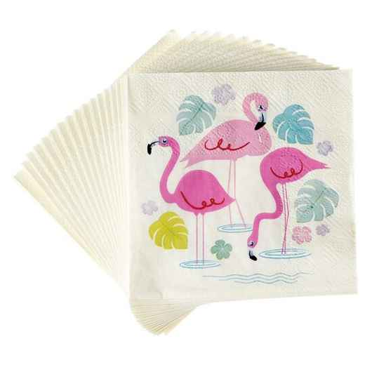 servietten Flamingo