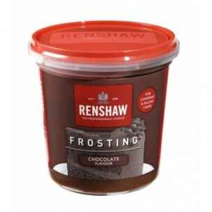 Renshaw Pro Ready-To-Use Frosting Chocolate 400 gram
