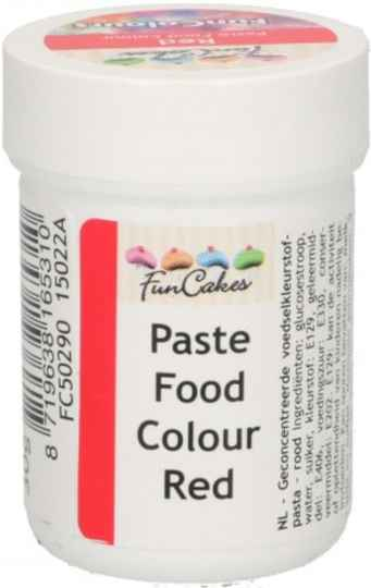 Paste Food colour rood 30 gram