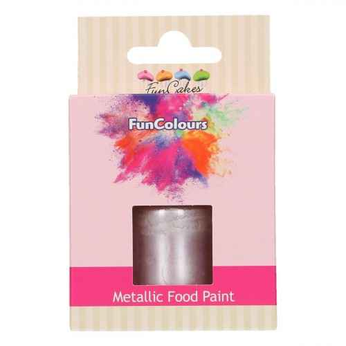 Funcakes Funcolours Metallic food paint lila 30 ml