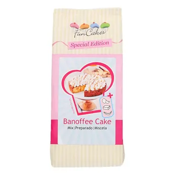 FunCakes Special Edition Mix voor Banoffee Cake 400g
