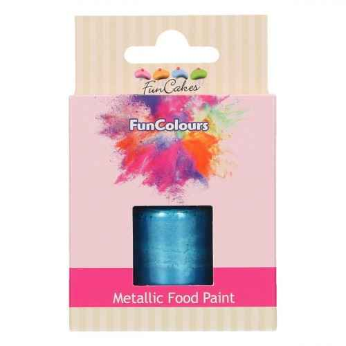 Funcakes Funcolours metallic foodpaint Royal Blue 30 ml