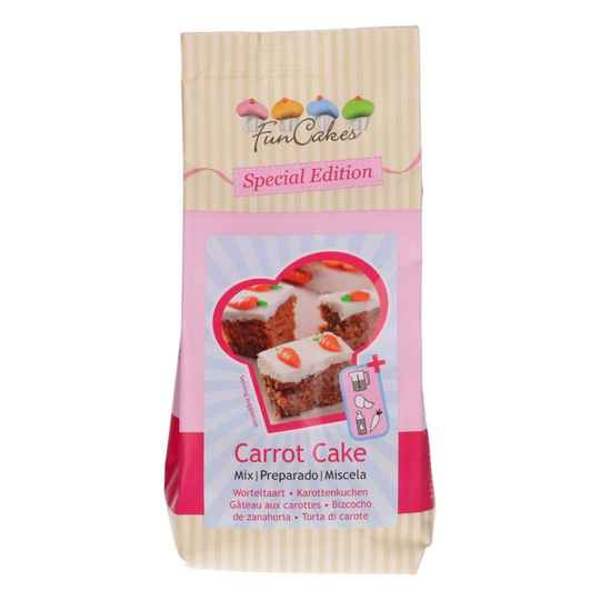 FunCakes Special Edition Mix voor Carrot Cake 500g