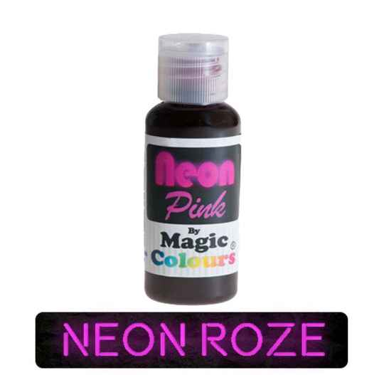Magic Colours Kleurstof Gel NEON Roze 32 gram