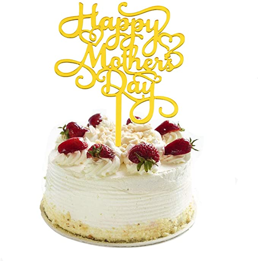 Topper acryl Happy Mothers Day