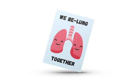 We Be-Lung Together Kaart