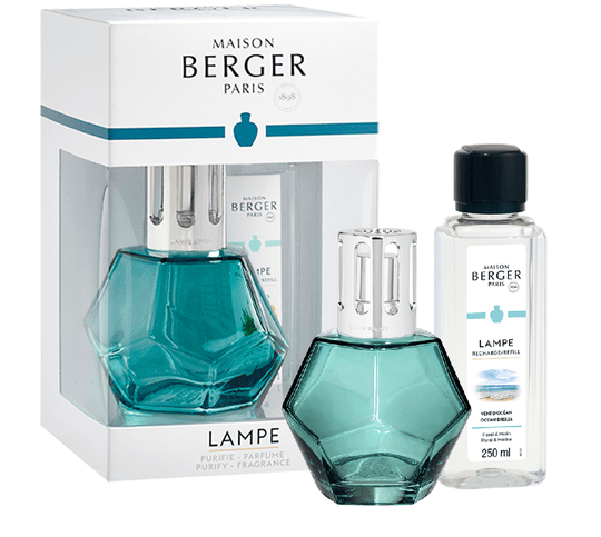 Lampe Berger Giftset Geometry Blue