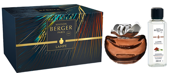 Lampe Berger Giftset Temptation Chocolat Sandalwood