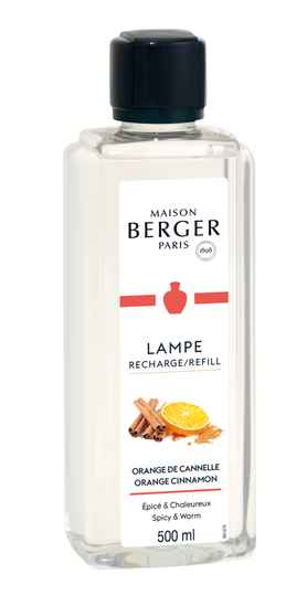 Lampe Berger navulling Zoet Orange Cinnamon voor geurbrander 500ml