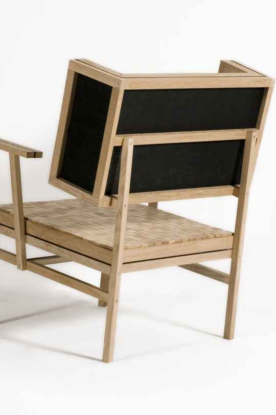 Soft oak chair