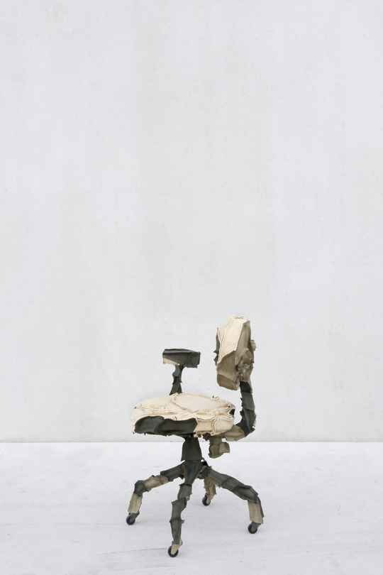 Skin Office chair green