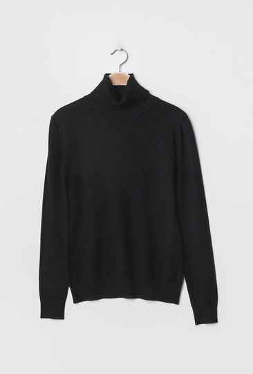 top with turtleneck