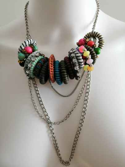 Hippie gipsy ketting color