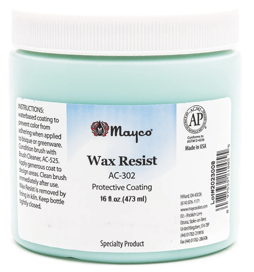 Mayco wax resist AC302 - 473ml