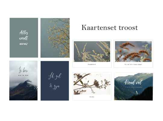 Kaartenset troost