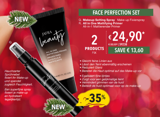 Jafra Face Perfection Set (2 producten)
