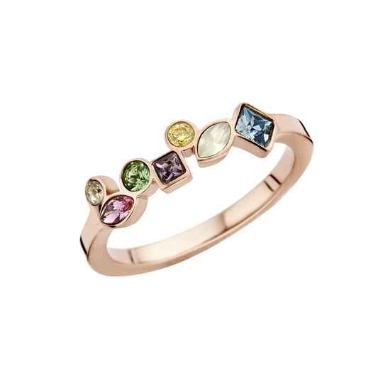 Melano friends ring mosaic goud
