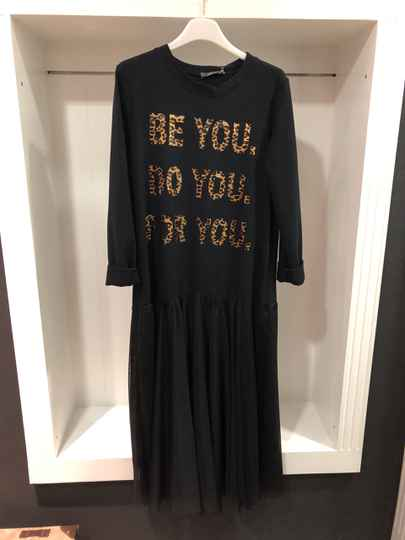 Be you Do you For you lange jurk