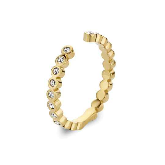 Melano twisted ring tina goud