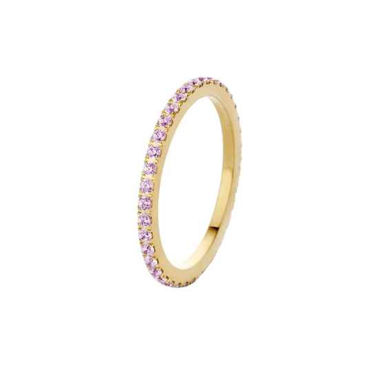 Melano friends ring sadé crystal goud