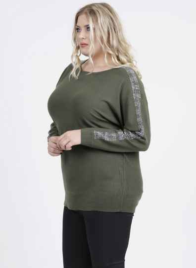 Magna Sweater - Curvy Fashion