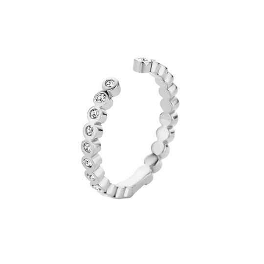 Melano twisted ring tina zilver