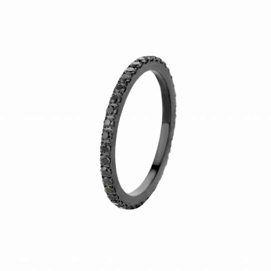 Melano friends ring Sadé Black Zirkonia Black