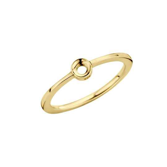 Melano twisted ring petite goud
