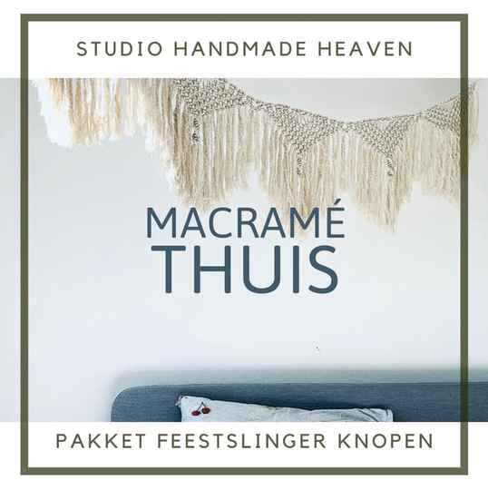 Macramé KIT:  Feestslinger part  one