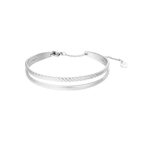 Armband Sophisticated - Zilver
