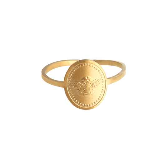 Ring Engel - Goud