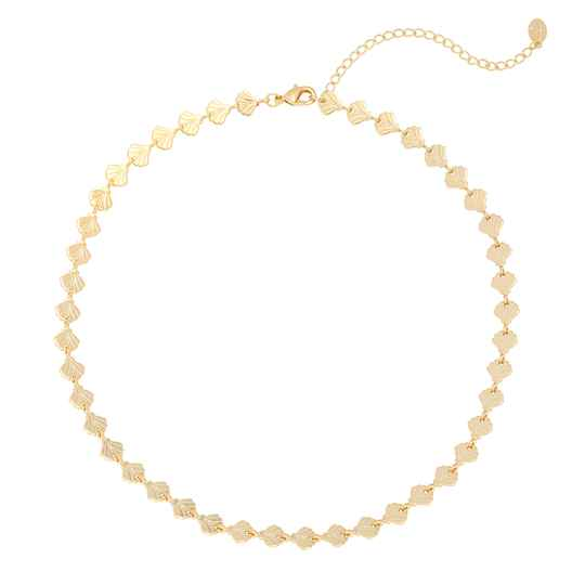 Shells Necklace Gold