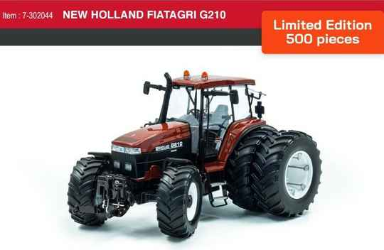 New Holland G 210 duals Lim.Ed  1;32