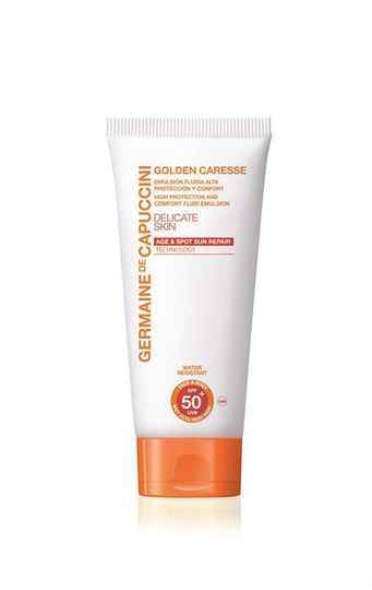 Germaine de Capuccini - High Protection and Comfort Fluid Emulsion SPF 50+ For Delicate Skin