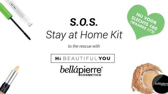 Bellápierre & Hi Beautiful You - S.O.S. Stay at home kit