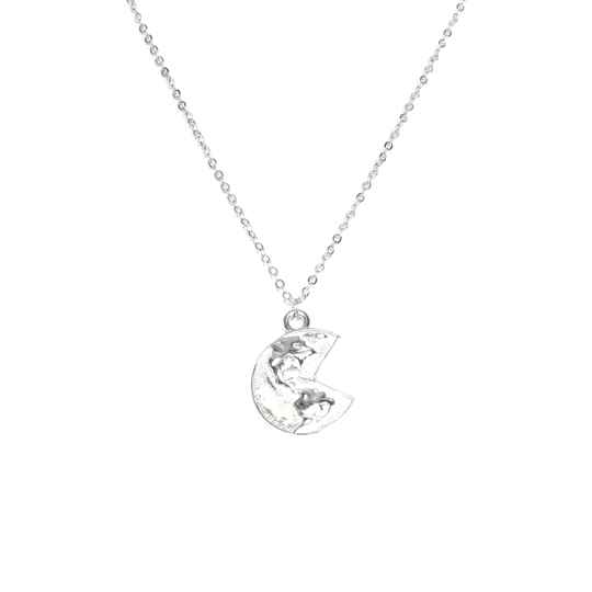 Ketting - earth silver
