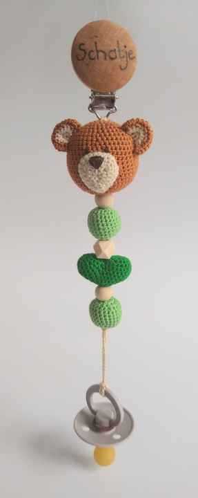 Speenkoord Beertje - Pacifier cord little Bear