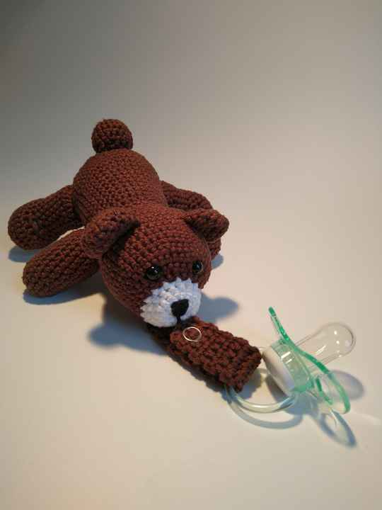 Speenknuffel Beer - Pacifier cuddle Bear