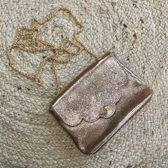 Road to glam bag - bronze