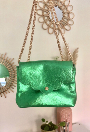 Road to glam bag - green