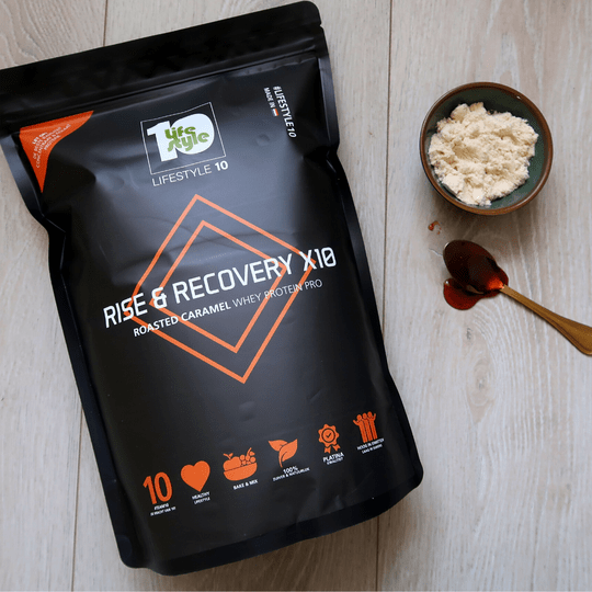 Whey Protein Pro: RISE & RECOVERY | Roasted Caramel