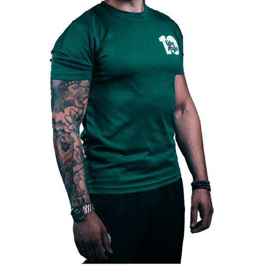 Platina Performance Sportshirt | Army Green | All White | All Black