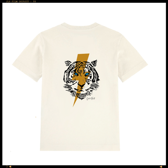 Customized Shirt Lightning Tiger