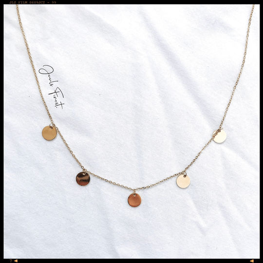 Necklace Little Coins