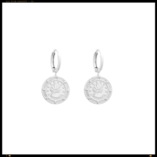 Earrings Pretty Coin