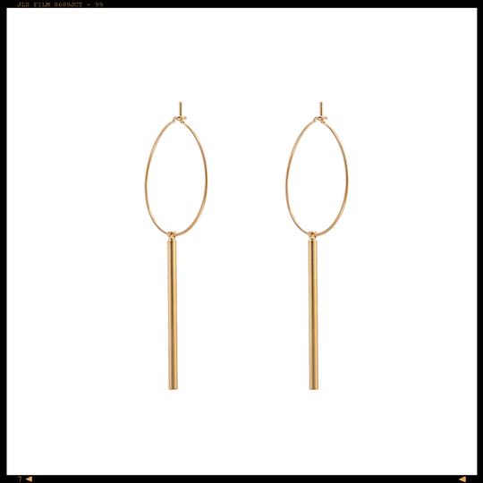 Earrings Statement Bar