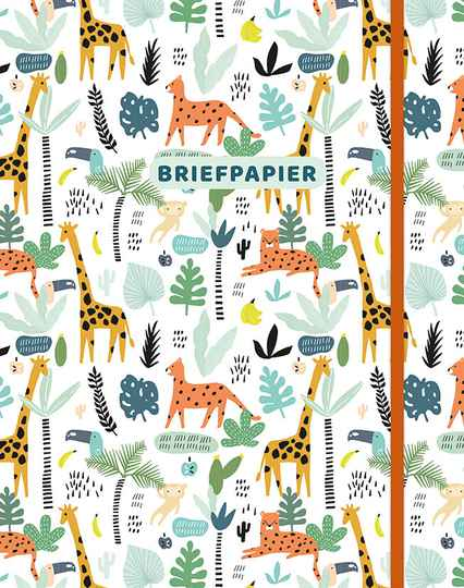 Briefpapier - Safari