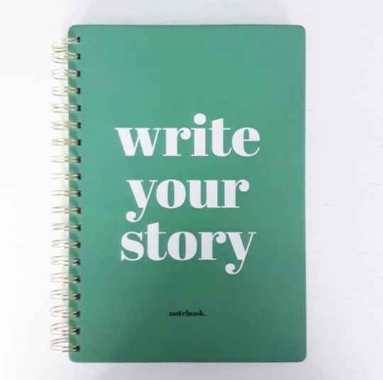 Notitieboek write your story